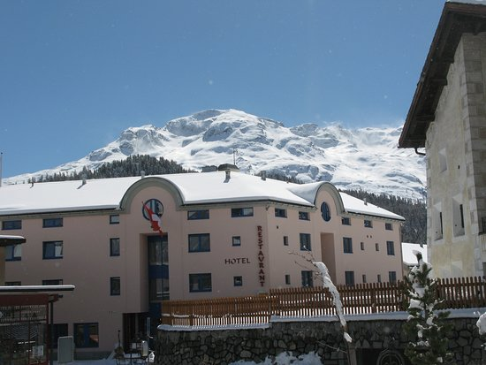St. Moritz, Switzerland: Hotel Restaurant Alte Brauerei, Celerina
