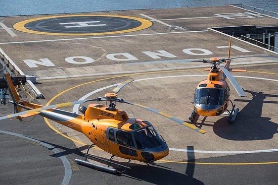 Vol en hélicoptère dans le centre de...
