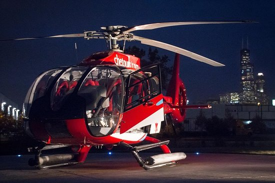Chicago Helicopter Tour Nacht...