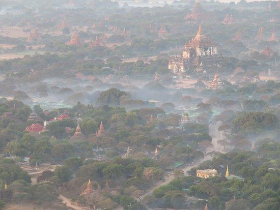 Tempel area in Bagan.