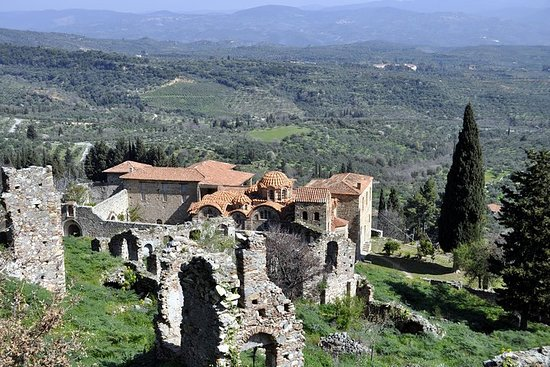 Mystras Private Day Trip from Athens or Nafplio with Lunch
