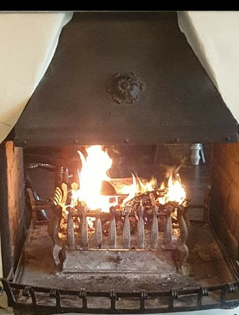 Why not book a table in a cosy pub