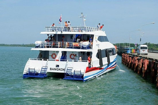 Von Boonsiri High Speed ​​Catamaran nach Koh Chang fahren