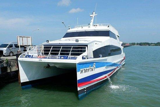 Koh Kood a Trat por el catamarán de alta velocidad Boonsiri