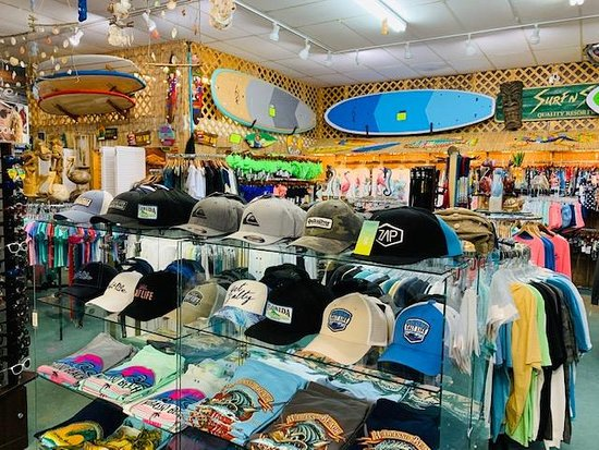 Wabasso, FL: Here's the inside of the shop