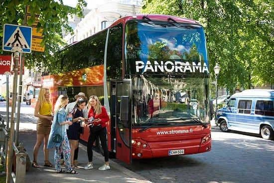 Visite panoramique audioguidée à...