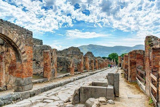 Dagtrip naar het eiland Pompeii en Capri