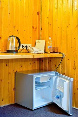 В номере - люкс есть холодильник