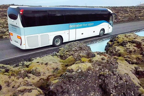 Keflavik Airport to Blue Lagoon Transport Photo