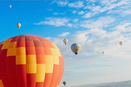Hot Air Balloon Rides in Chianti Wine Region Photo