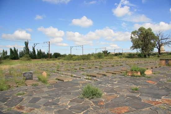 09 Feb 2020 Boer war concentration camp cemetery located in the industrial area of Kroonstad. Forgotten about & isolated. Was a privilege to see it tough.