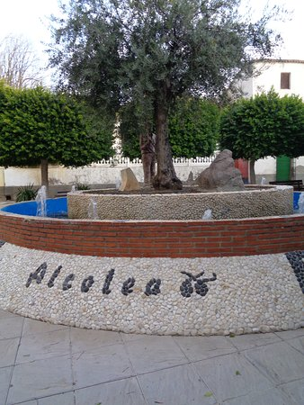 Alcolea, Испания: plaza