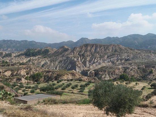 La Umbría, España: Un paysage très particulier !