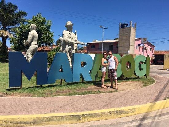 A caminho da praia de Maragogi
