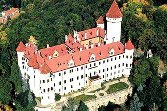 Konopiste Chateau and Nový Knín and Karlstejn Castle Private Tour...