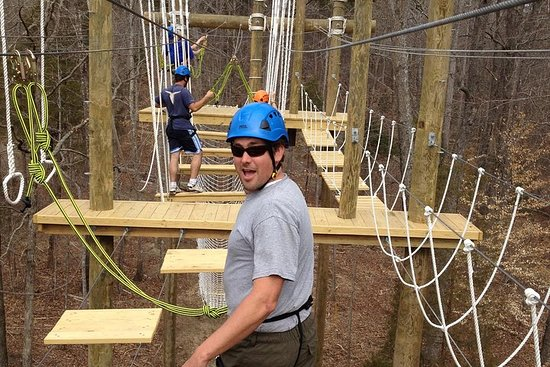 Greenbrier Aerial Adventure Course