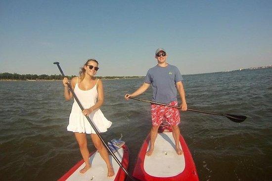 Visite du stand up Paddleboard au port de Charleston
