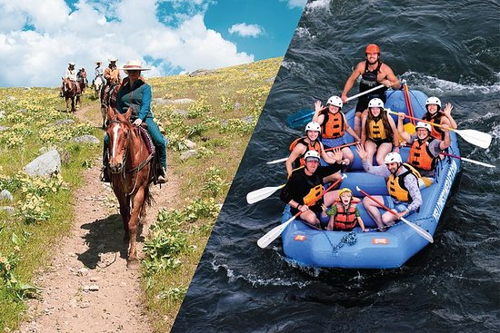 Foto de Saddle and Paddle, Whitewater y Horseback Experience - Express Combo Trip