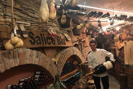 Vinsmagning med kok Luigi Gandola