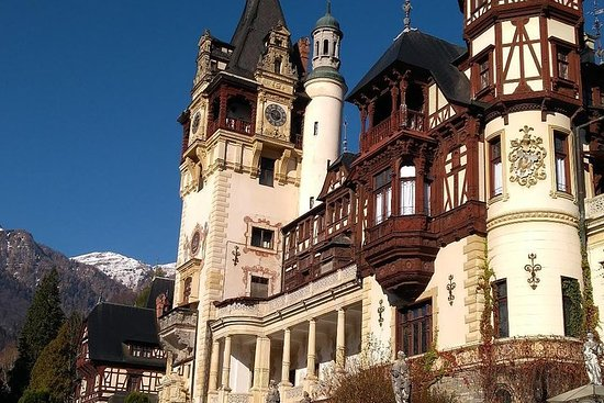 Visite privée de Brasov: château de...