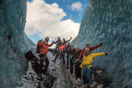 Glacier Walk on Solheimajokull Glacier Fotografie