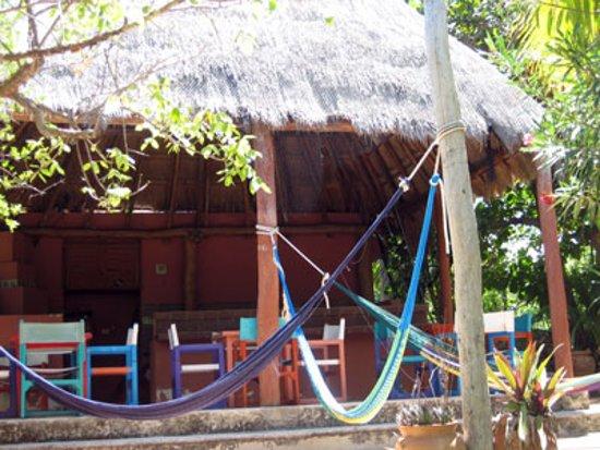 Isla Mujeres, Mexiko: Villas Punta Sur palapa