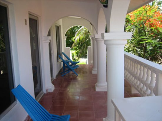Isla Mujeres, Mexiko: Villas Punta Sur apartment terrace