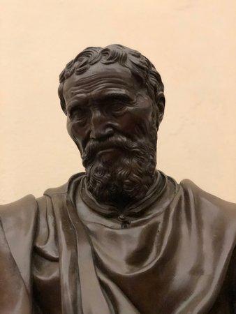 Michelangelo. KINDA looks like Charlton Heston....