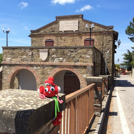 Teatro Castel Rigone.  The heart of the village.