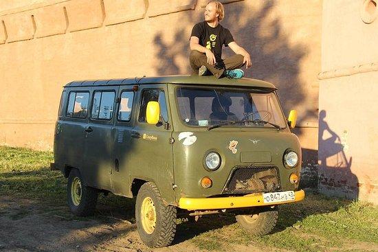 Privat tur til Vladimir og Suzdal av Sovjet Van OR Multivan