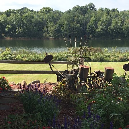 Rome City, Индиана: Our home, a vacation home and an Amish family share this 12 acre private lake. Bluegills, Croppie's, bass and more!