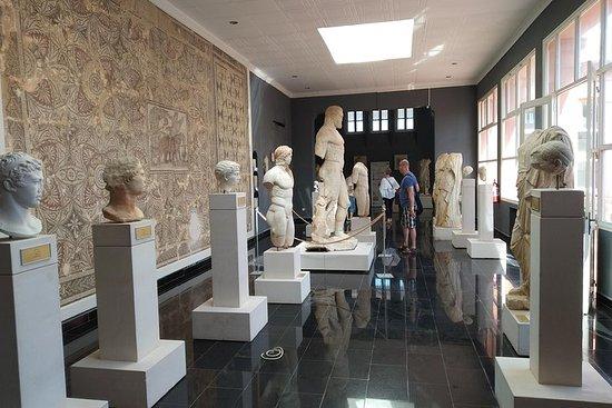 Visite des ruines romaines de Tipaza...