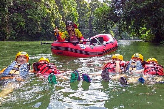 Safari flottant dans la rivière...