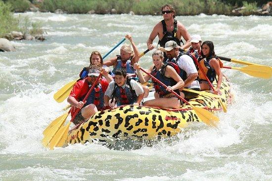 Foto de Rafting Yankee Jim Canyon en el río Yellowstone
