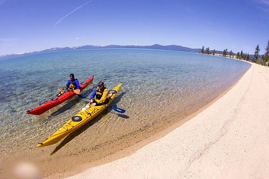 Guided Kayak Tour of Tahoe's Sand Harbor