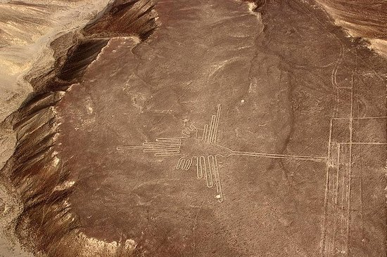 Nazca lines from Nazca airport
