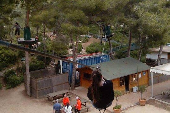 Entrée au parc Jungle-Trek à Tarragone