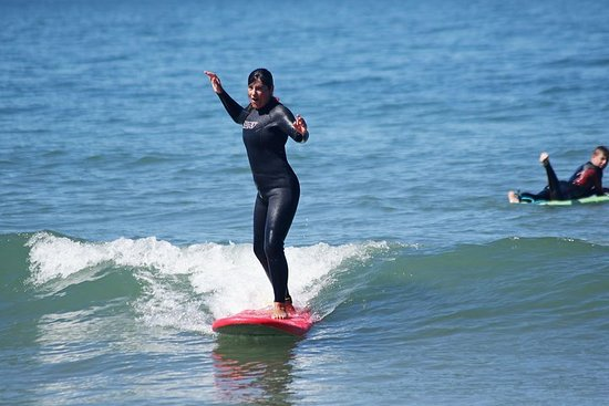 Cours de surf privé pour débutants