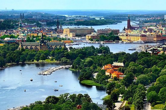 Private tours by limousine car in Stockholm, 8 h. Personalized shore excursions Fotografie