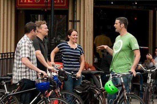 Tour in bicicletta nel centro di