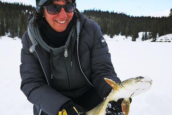 Yukon Eisangeln & Schneeschuhwandern...
