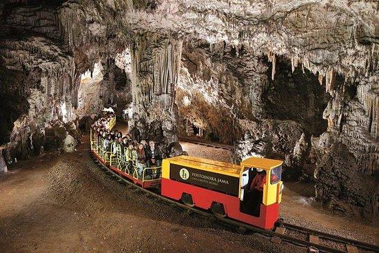 Grotte di Postumia e Castello di Predjama da Sistiana