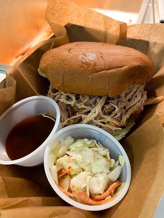 Montross, VA: Pulled Pork BBQ Sandwich