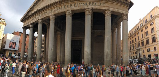 panoramic shot of entrance. It DOES get crowded, so try and go early.