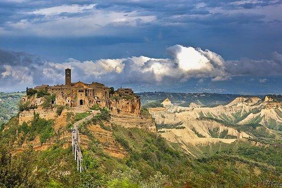 Umbria og den etruskiske Land Shore Excursion fra Civitavecchia Port