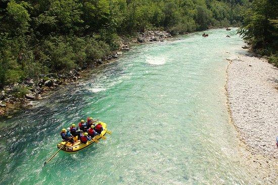 Família TOP Rafting pelo rio Soca