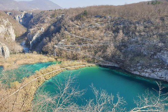 Plitvice湖、プーラからザグレブへの移動...