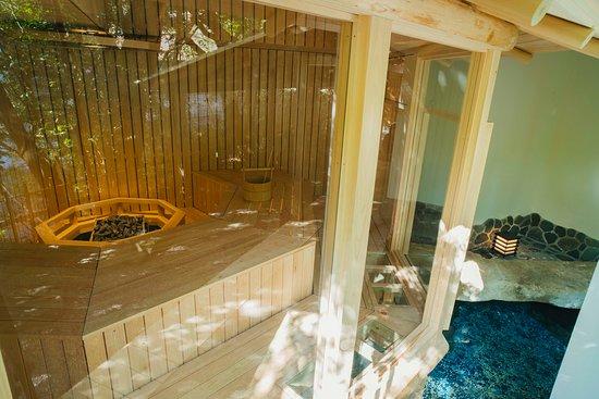 茶室サウナ(月の湯)/ Tea-house sauna