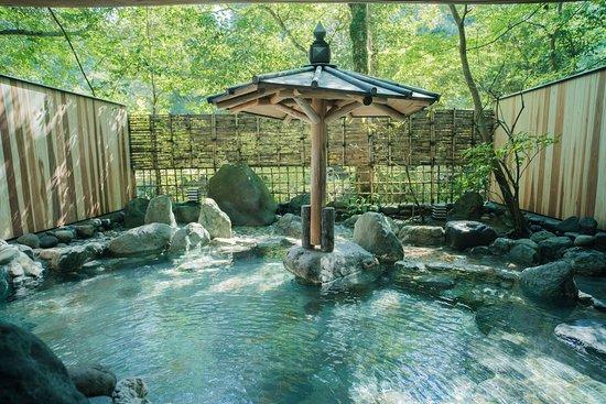星の湯・貸切露天風呂 / Private open-air bath (Hoshi no Yu)