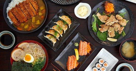 Rydalmere, Australia: Japanese food in local pub
